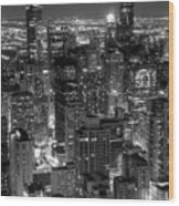 Skyscrapers Of Chicago Wood Print