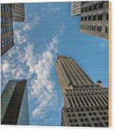 Skytops Manhattan Wood Print