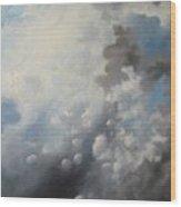 Skywards Wood Print