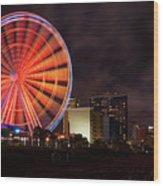 Skywheel Wood Print
