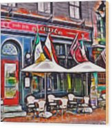 Slainte Irish Pub And Restaurant Wood Print