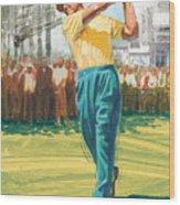 Slam'n Sammy Wood Print by Harry West