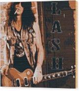 Slash, Guns'n'roses Wood Print