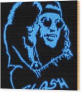 Slash Wood Print