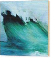 Slaughterhouse Beach Maui Wood Print