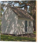 Slave Cabin Wood Print