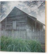Slave Cottage Wood Print