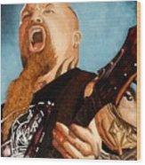 Slayer King Wood Print