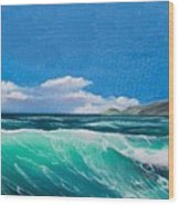 Slea Head Co Kerry Dingle Wood Print