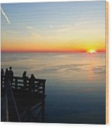 Sleeping Bear Sunset 02 Wood Print