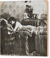 Sleeping Beauty, C1900 Wood Print