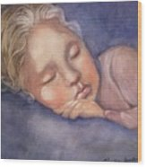 Sleeping Beauty Wood Print