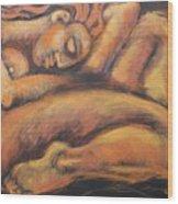 Sleeping Nymph3 Wood Print