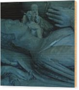 Sleeping With Angels Wood Print