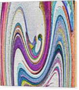 Slice Of Life Wood Print