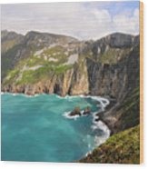 Slieve League Donegal Ireland Wood Print