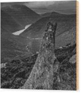 Slievenaglogh To Ben Crom. Wood Print