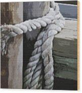 Slip Knot Wood Print