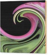 Slip 'n' Slide Wood Print