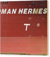 Sloman Hermes Detail With Anchor 051718 Wood Print