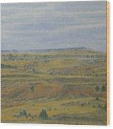 Slope County Splendor Wood Print