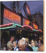 Sloppy Joes Bar Wood Print