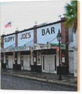 Sloppy Joe's Bar Key West Wood Print