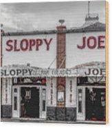 Sloppy Joe's Saloon- Key West Wood Print