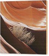 Slot Canyon 208 Wood Print