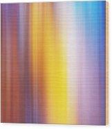 Slot Canyon Colors Abstract Wood Print