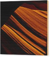 Slot Canyon Striations Wood Print