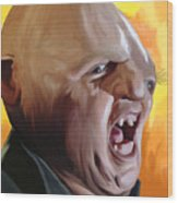Sloth From Goonies Wood Print by Brett Hardin
