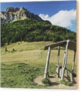 Slovak Mountains Wood Print