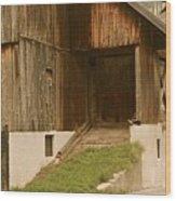 Slovenian Barn Wood Print
