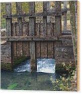 Sluce Gate Wood Print by Marty Koch