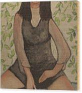 Slyvia Wood Print