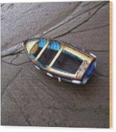 Small Boat Wood Print