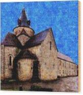 Small Church 1 Wood Print