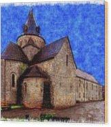 Small Church 2 Wood Print