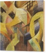 Small Composition I 1913 Wood Print