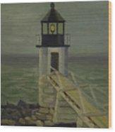 Small Lighthouse Wood Print