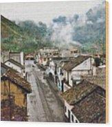 Small Town Ecuador Wood Print