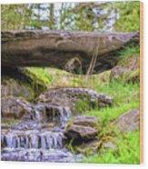 Small Waterfall 1 Wood Print