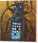 Smart Phone Wood Print