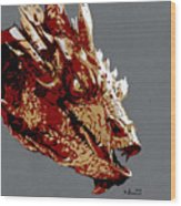 Smaug The Unassessably Wealthy Wood Print