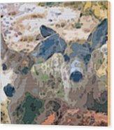 Smidgeon And Rudi 2 Wood Print