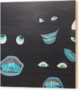 Smiles Wood Print
