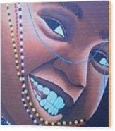 Smiling Kid Wood Print