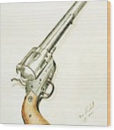 Smith And Wesson Wood Print