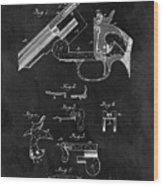 Smith And Wesson Model 3 Patent Wood Print